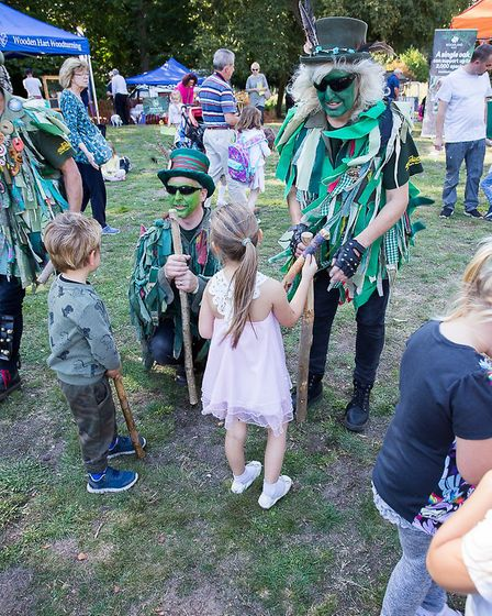 Tales and Trails Festival at Brandon Country Park. Picture: Brandon Creative Forum/MarketPlace