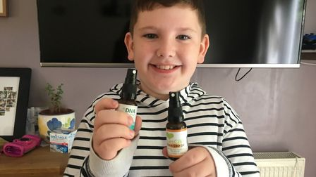 Nine-year-old Alfie McGrath has autism and has been using CBD oil to help with his anxiety, which hi