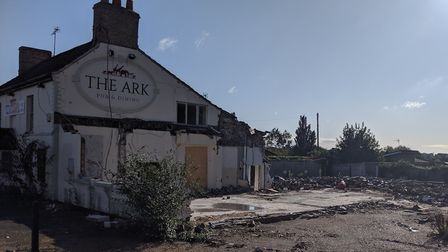 Demolition of The Ark was halted after an investigation was launched by Breckland Council. Picture: