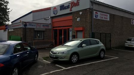 Thetford business, Maxi Poli, of 12 Lime Kiln Lane, owners of a nearby car wash and cafe at 14 Lime
