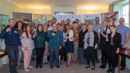 The launch of the Thetford Business Awards 2020 at the Thomas Paine Hotel. Picture: Gez Chetal