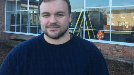 Breckland Councillor for Thetford Burrell has promised his support to Thetford Town Hockey Club. Ter