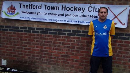 Barry Reynolds, chairman and youth development coach at Thetford Town Hockey Club fears the future o