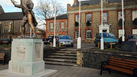 Thetford Kings House where the full town council meeting was held. Photo:Sonya Duncan Copy: For: EDP