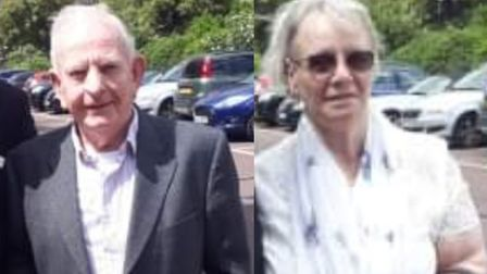 John and Henrietta Connolly, from Thetford, were personally invited to Rome by the Pope Francis for