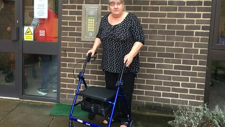 Linda Hook is a resident at Lord Walsingham Court retirement home in Thetford and she used the Norse