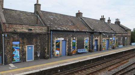 Brandon Station could have improved facilities if Greater Anglia goes ahead with its plans to demoli