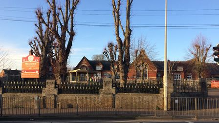 Norwich Road Academy is hoping to build a new dining hall. Picture: Rebecca Murphy