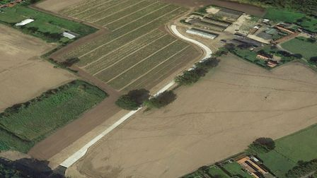 Home Breck Farm, where an application for 16 homes has been made. Picture: Google