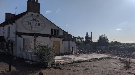 Demolition of The Ark was haulted after an investigation was launched by Breckland Council. Picture: