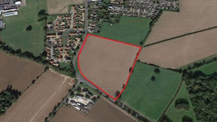 The location of the proposed development on Thetford Road. Picture: Google