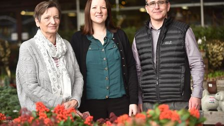 The family behind Thetford Garden CentreJean Nixon and her daughter Lucy Hinkley and her husband Sha
