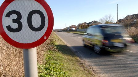The 30 for Thetford campaign looks to introduce a 30mph speed blanket in the town. Picture: Archant