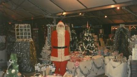 Christmas at Thetford Garden Centre, at Lime Kiln Lane. Photo: Lucy Nixon