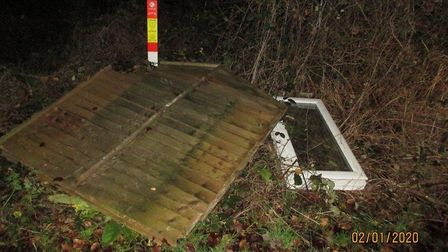Fly tipper fined £600 for leaving DIY waste in Thetford Forest. Photo: Breckland Council