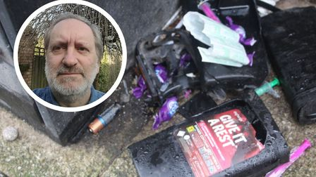Glenn Williams has complained that a sharps bin for the safe disposal of drug paraphernalia at Thetf