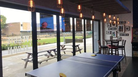 Burgerbrats in Thetfor offers a 'social dining experience.' Picture: Ella Wilkinson