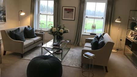 Inside a 3-bed Hopkins Homes townhouse on the Kingsfleet development at Thetford. Picture: Neil Dids