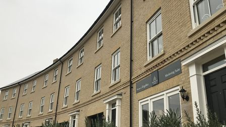 A beautiful row of modern townhouses by Hopkins Homes has set the benchmark for other developers to