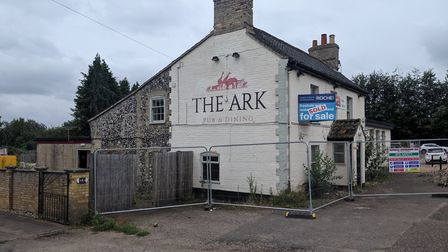 The Ark Pub in Thetford is being demolished. Picture: Marc Betts