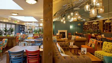 The refurbished cafe at Thetford Garden Centre, named the Lime Kiln Kitchen. Picture: Keith Mindham