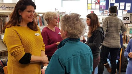 International singer Kate Dimbleby has been helping pensioners find their voice across Breckland as