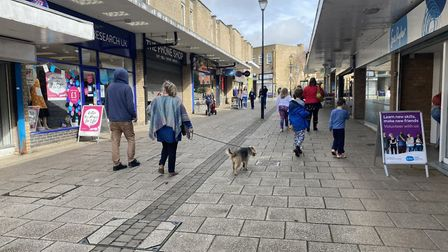 Thetford town centre is business as usual despite coronavirus concerns. Photo: Emily Thomson