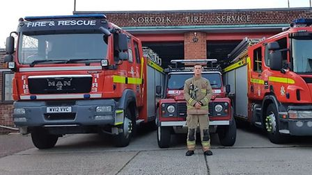 Richard Taylor is a firefighter and owner of Tiger Fitness in Thetford. Photo: Richard Taylor