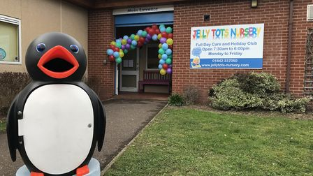 Jelly Tots Nursery's have taken over the former Sure Start children's centre in Kingsway. Picture: N