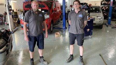 Chris Pinkney and David Bunn, are the new owners of C&D Motors servicing, formerly SWM Motors in Bra