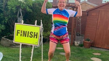 Melanie Sturman is a nurse from Thetford who was set to complete her 300th marathon before the coron