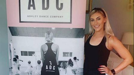 Ashley Smith, owner of the Ashley Dance Company, has been teaching her students virtually during loc