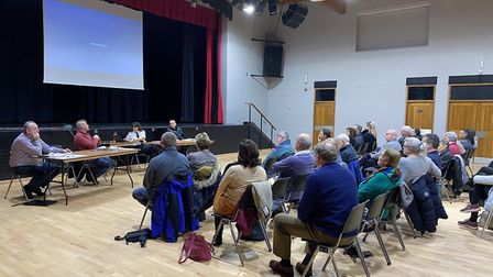 Police spoke to members of the Thetford community at a previous STAG public meeting in January, befo