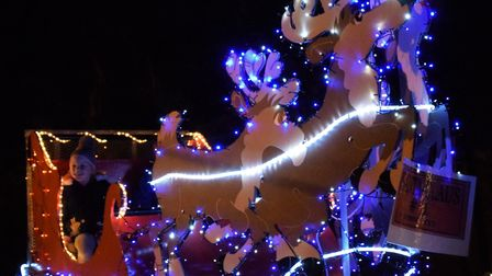 Thetford's Winter Wonderland Christmas light switch-on 2018. Photo: Courtesy of Thetford Town Counci