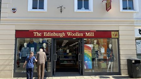 The Edinburgh Woollen Mill in Thetford. Photo: Emily Thomson