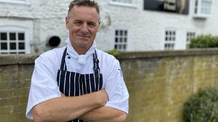 Tour chef to the stars, Tony Liddell, is now in the kitchen at the Thomas Paine Hotel in Thetford. P