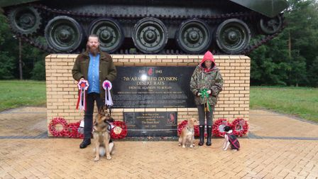 The best pedigree and best novelty dogs from the Desert Rats Association's 2020 dog show at the Crom