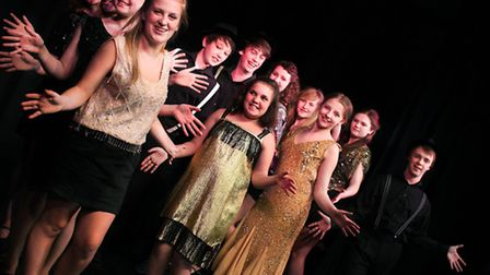 Cast members from the Another Night At The Musicals production.