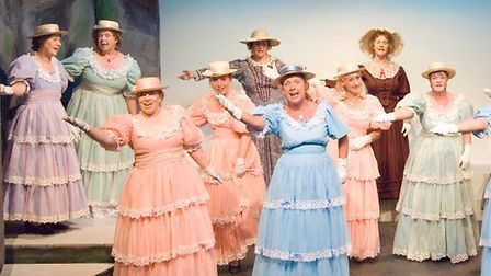 The Sheringham Savoyards production of the Pirates of Penzance in 2006