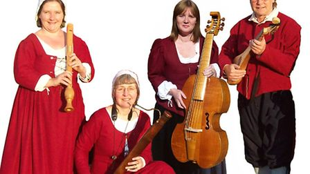Minstrels Gallery, who will be performing as part of the Trunch concerts.