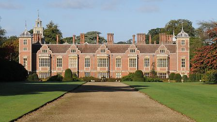 Blickling Hall assistant head gardener, Stephen Hagon, looks back at the damage caused to the trees