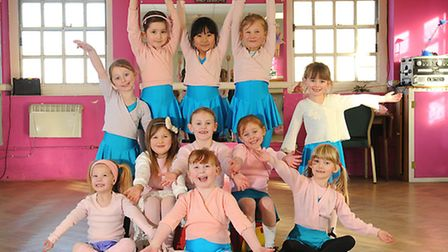 Dancers from Marlene's School of Dance prepare for their show in May.PHOTO: ANTONY KELLY
