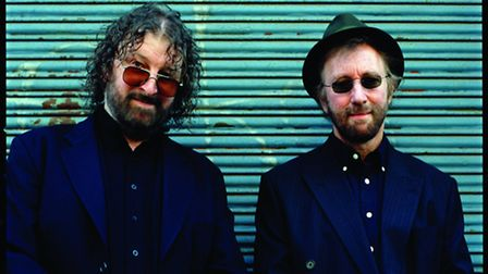 Chas and Dave, who are playing at Cromer Pier.