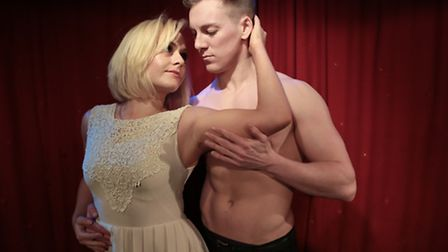 Katie Bass and Austin Wilks, who are playing the lead roles in A Night of Dirty Dancing at Cromer Pi