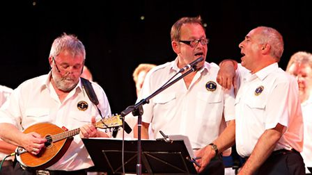 Sheringham Shantymen who are appearing in the Crab and Lobster festival concert