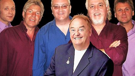 Gerry Marsden, who will be performing in the Gerry Cross The Mersey concert on Cromer Pier.