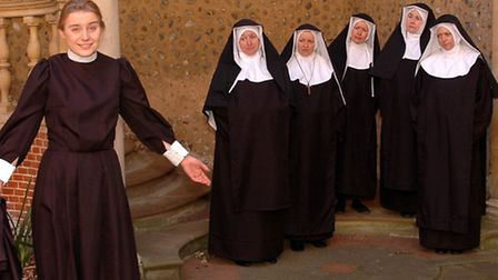 Maria and the nuns in the new Sound of Music musical.