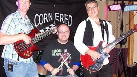 Rock and pop group Cornered.