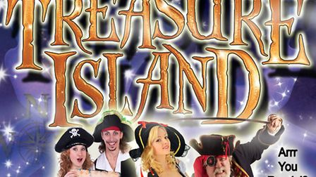 The cast of Treasure Island who will be performing at Sheringham Little Theatre.