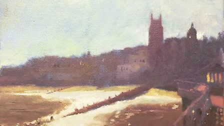 Art by Lance Beeke which will be in the spring exhition at The Gallery, Cromer.